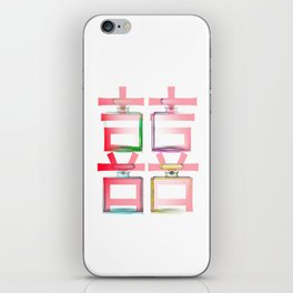NO.5 DOUBLE HAPPINESS IN RED iPhone Skin