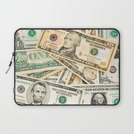 dollar bills Laptop Sleeve