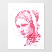 jane eyre Canvas Prints featuring Jane Eyre glowing by Jonathan Snowden