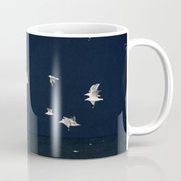 sea - evening flight Coffee Mug