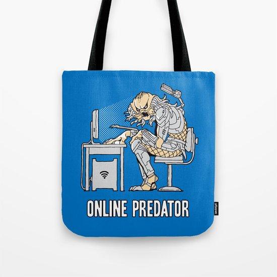 Online Predator Tote Bag