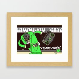 V. Vaughn Framed Art Print