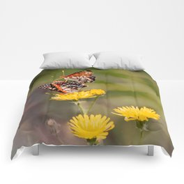 Butterfly Acrobats Comforters