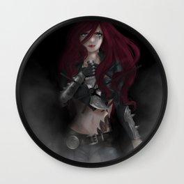 Katarina, The Sinister Blade Wall Clock