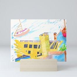 The Pier Mini Art Print