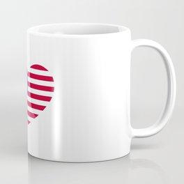 Big American Heart Coffee Mug