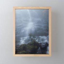 Amicalola Falls in the Morning Mist Framed Mini Art Print