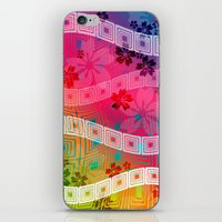 band iPhone & iPod Skins featuring hawaii band by Norma Lindsay
