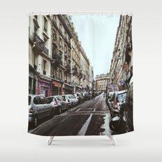 Paris Streets Shower Curtain