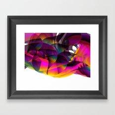 Fans Framed Art Print