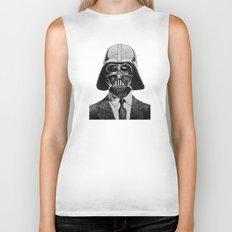 Darth Vader portrait #2 Biker Tank