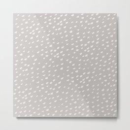 Nordic gray Metal Print