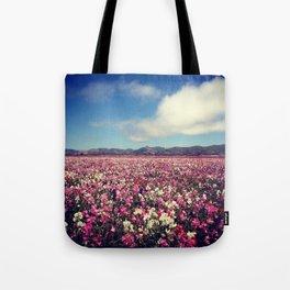 SEA OF FLOWERS Tote Bag