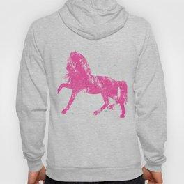 Horse Riding Gift Little Girls Sparkle Horseback Farm Hoody