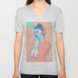 Day Dreaming Unisex V-Neck