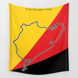 Racetrack Nürburgring Nordschleife Wall Tapestry