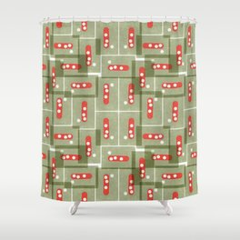 Abstract no2 Shower Curtain
