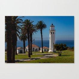 Point Vicente Lighthouse Canvas Print