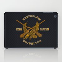 quidditch iPad Cases featuring Ravenclaw quidditch team iPhone 4 4s 5 5c, ipod, ipad, pillow case, tshirt and mugs by Three Second