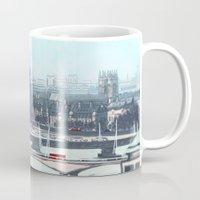 enerjax Mugs featuring London by enerjax