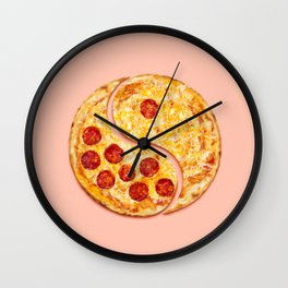Pizza Harmony Wall Clock