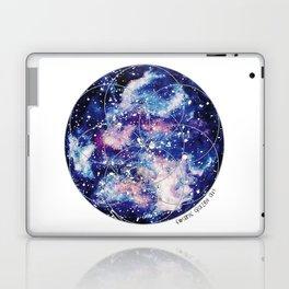 Nebula Planet with Seed of Life Laptop & iPad Skin