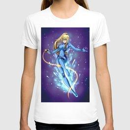 Zero Suit Samus Digital Print T-shirt