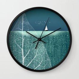 OCEAN WONDERLAND VIII Wall Clock