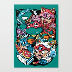 Special Delivery! Canvas Print