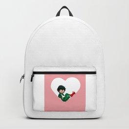 <3 Midoriya Izuku Backpack