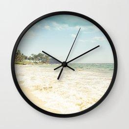 Polo Beach Maui Hawaii Wall Clock
