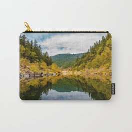 Rocky Fall Reflections Carry-All Pouch