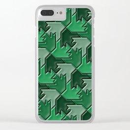 Geometrix 102 Clear iPhone Case