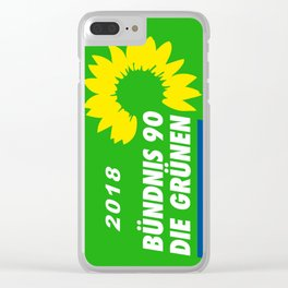 German Greens 2018 Clear iPhone Case