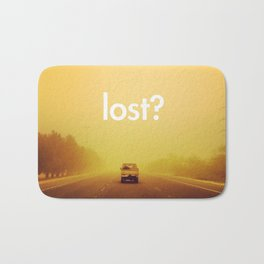 lost? Bath Mat