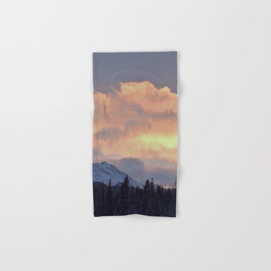 Serenity Rose Mt Sunrise Hand & Bath Towel