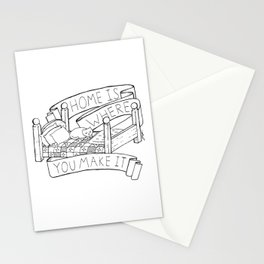 Home Is Where You Make It Stationery Cards