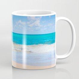 Turquoise Ocean Waves Coffee Mug