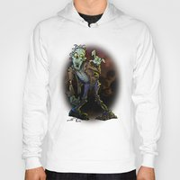 zombie Hoodies featuring ZOMBIE! by Billy Allison