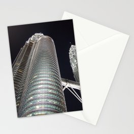 Petronas Twin Tower, KL Malaysia Stationery Cards