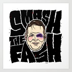 SMASH THE FASH Art Print