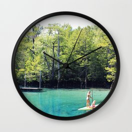 Morrison Springs Wall Clock