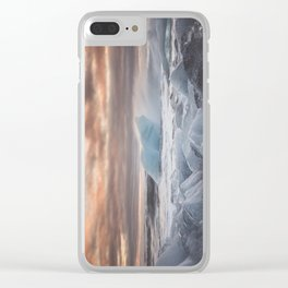 The Ice Cold Heaven - Landscape and Nature Photography Clear iPhone Case