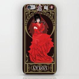 Lydia Nouveau - Beetlejuice iPhone Skin