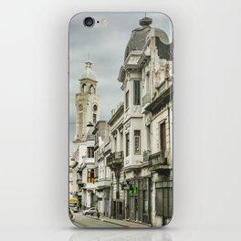 Montevideo Historic Center Cityscape iPhone Skin