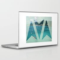 boats Laptop & iPad Skins featuring Boats by Ria*