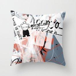 Gonzos Coded, Remixed. 2007_series03_shot02 Throw Pillow