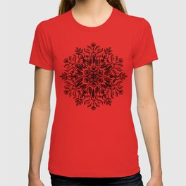 Thrive - Monochrome Mandala T-shirt