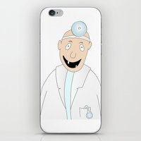 dentist iPhone & iPod Skins featuring happy dentist by siloto