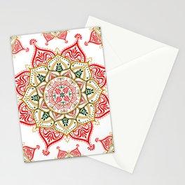 Mandala Indian Spirit Spiritual Zen Bohemian Hippie Yoga Mantra Meditation Stationery Cards